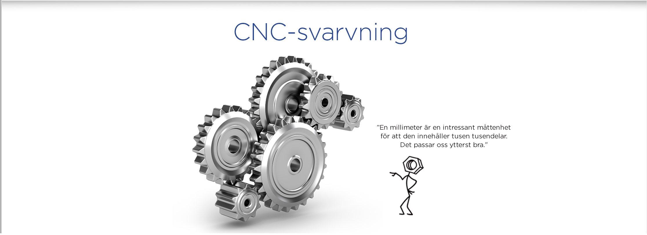 cnc-svarning